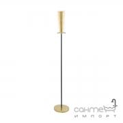 Торшер Eglo Pinto Gold 97655 арт-деко, сталь, стекло, черный, золото, прозрачный