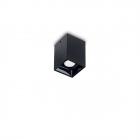 Светильник точечный накладной Ideal Lux Nitro 206042 металл, черный