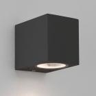 Настенный светильник с защитой от влаги Astro Lighting Chios 80 1310002 Черный Текстурный