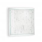 Светильник потолочный Ideal Lux Ocean 081441 современный, матовый, прозрачный, стекло с декором, металл