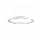 Люстра подвесная Ideal Lux Oracle 211381 авангард, опаловый белый, пластик, алюминий