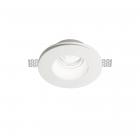 Светильник точечный встраиваемый Ideal Lux Samba 150130 белый, гипс, металл