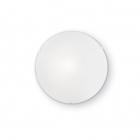 Светильник потолочный плафон Ideal Lux Simply 007984 модерн, матовый, белый, пескоструйное стекло
