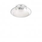 Светильник потолочный Ideal Lux Smarties 035543 современный, матовый, прозрачный, хром, окисленное стекло