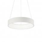 Люстра светодиодная подвесная Ideal Lux Stadium 153124 хай-тек, белый, акрил, металл
