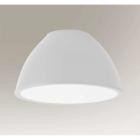 Светильник потолочный Shilo Sasebo 7969 белый, оргстекло, металл