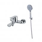 Смеситель для ванны и душа настенный с гарнитуром Madamix M1004 хром