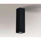 Точечный светильник накладной Shilo Kobe 1173 современный, черный, металл