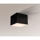 Точечный светильник накладной Shilo Suwa 1175 современный, черный, металл, оргстекло