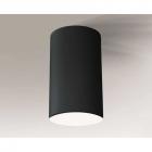 Точечный светильник накладной Shilo Arao 1178 современный, черный, металл, оргстекло