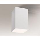 Точечный светильник накладной Shilo Arao 7080 современный, белый, металл, оргстекло