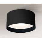 Светильник потолочный Shilo Tosa 7066 черный, металл, оргстекло