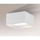 Светильник потолочный Shilo Tosa 7068 белый, металл, оргстекло