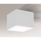 Светильник потолочный Shilo Zama 7056 белый, металл, оргстекло
