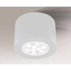 Точечный светильник накладной Shilo Tamba 7059 современный, белый, сталь