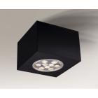Точечный светильник накладной Shilo Tamba 7062 современный, черный, сталь