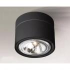 Точечный светильник накладной Shilo Himi 7025 современный, черный, сталь, алюминий