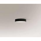 Люстра припотолочная Shilo Bungo 7140 современный, черный, оргстекло, металл
