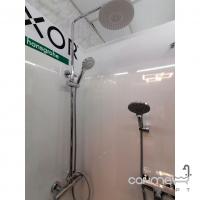 Душевая система наружного монтажа с термостатическим смесителем Impulse i5000 хром