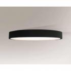 Люстра припотолочная Shilo Bungo 1159 современный, черный, оргстекло, металл