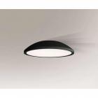 Люстра припотолочная Shilo Wanto 1162 современный, черный, оргстекло, металл