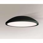 Люстра припотолочная Shilo Wanto 1164 современный, черный, оргстекло, металл