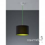 Люстра Trio Colorit 308500102 хром/черная ткань