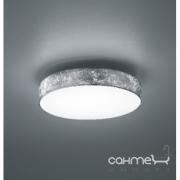 Потолочный LED-светильник Trio Lugano 621912489 белый/ткань серебро