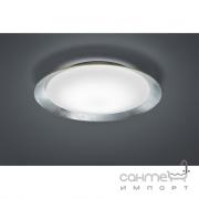 Потолочный LED-светильник Trio Vancouver 656813089 серебро/белое матовое стекло