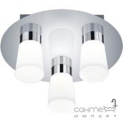 Потолочный влагозащищенный LED-светильник Trio Nevio 682310306 хром/белое стекло