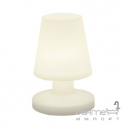 Настольная влагостойкая лампа Reality Bora R57061101 белый пластик