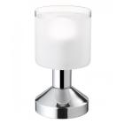 Сенсорный ночник Reality Gral R59521006 хром/белое стекло