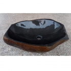 Раковина на столешницу Stone Art 56x38x16 речной камень