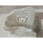 Раковина на столешницу Stone Art 40x35x14,5 натуральный мрамор