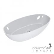 Отдельностоящая ванна из литого камня Fancy Marble Mateo 180 белый
