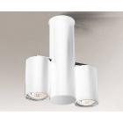 Светильник потолочный спот Shilo Shima 7208 хай-тек, белый, сталь, алюминий