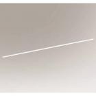 Светильник потолочный светодиодный Shilo Isesaki 8022 белый, металл, сталь, алюминий