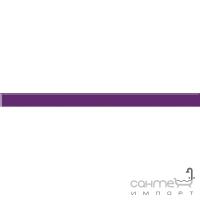 Бордюр Paradyz Kwadro Ceramika Uniwersalna listwa szklana Purpura 2,3 x 33,3