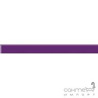 Бордюр Paradyz Kwadro Ceramika Uniwersalna listwa szklana Purpura 2,3 x 25
