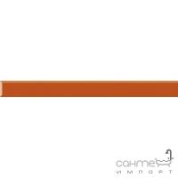 Бордюр Paradyz Kwadro Ceramika Uniwersalna listwa szklana Arancione 2,3 x 25
