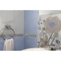 Плитка Paradyz Kwadro Ceramika Tirani Blue Listwa Szklana 3 x 25