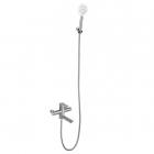 Смеситель для ванны с душевым гарнитуром Venta VA7045 нержавеющая сталь