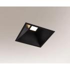 Светильник потолочный Shilo Ube IL 3368 черный, металл, сталь, алюминий