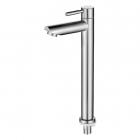 Кран для холодной воды высокий Venta VAC2032-1 нержавеющая сталь
