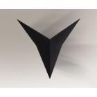 Светильник настенный бра Shilo Hino IL 4450 хай-тек, черный, сталь, алюминий