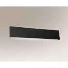 Светильник настенный бра Shilo Kitami 4413 хай-тек, черный, сталь, алюминий