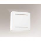 Светильник настенный бра Shilo Kitami 7451 хай-тек, белый, сталь, алюминий