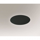 Светильник настенный Shilo Suzu 4470 хай-тек, черный, сталь, алюминий