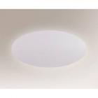 Светильник настенный Shilo Suzu 7434 хай-тек, белый, сталь, алюминий