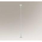 Люстра подвесная Shilo Kanzaki 7941 современный, белый, металл